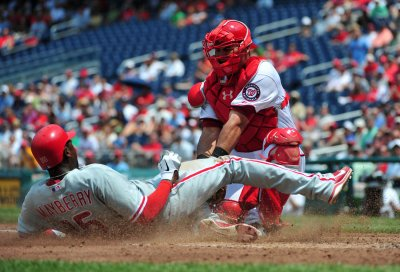 MLB: Washington 2, Philadelphia 1