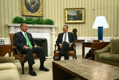 Aide: Obama, Boehner have 'constructive conversation' on 10 issues