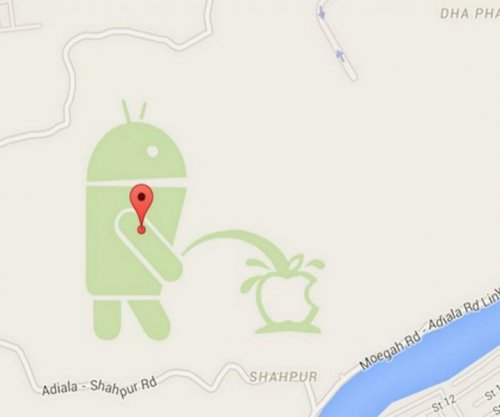 Google forced to shut down map editor after urinating Android problem