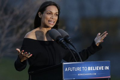 Rosario Dawson arrested after crossing police line during peaceful protest in D.C.