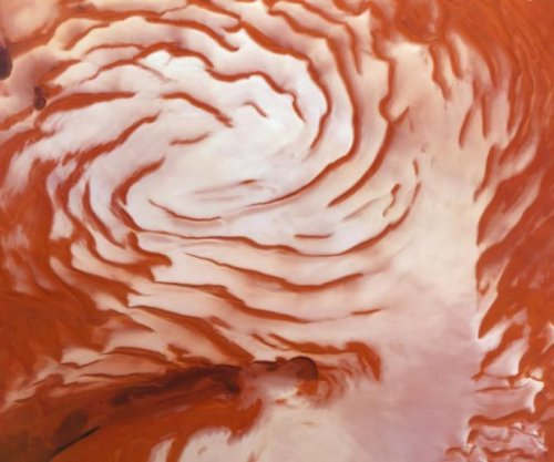 Evidence of ancient ice age found on Mars' north pole