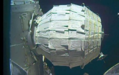 International Space Station expands