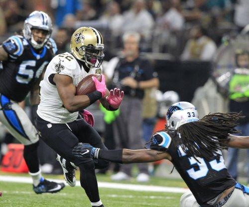 New Orleans Saints RB Mark Ingram, Carolina Panthers C Ryan Kalil leave game