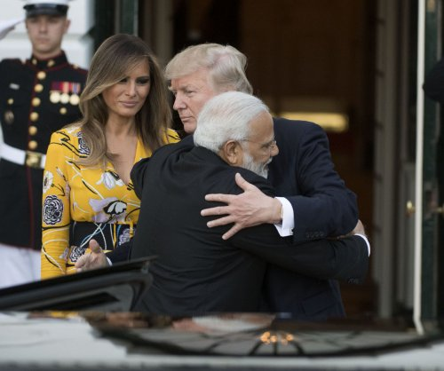 Trump, Indian PM Modi emphasize partnership at White House visit