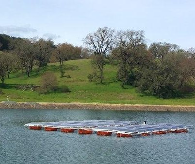Floating solar power: new frontier for green-leaning water utilities