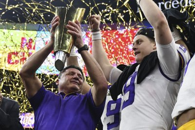 LSU head coach Ed Orgeron: 2019 Tigers are 'a team for the ages'