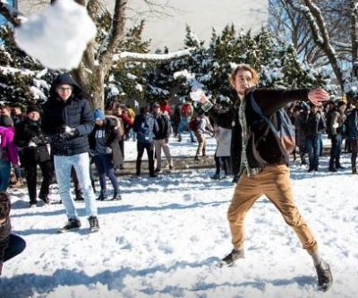Vancouver university's snowball fight snowed out, rescheduled