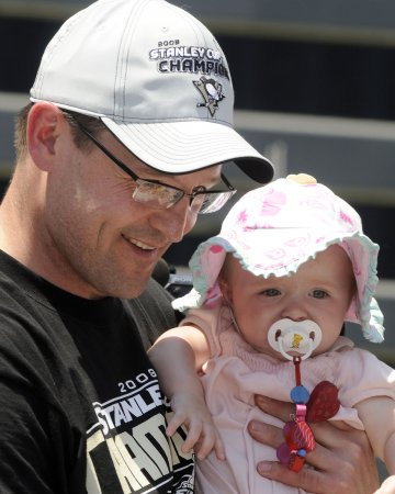 Penguins feted with parade