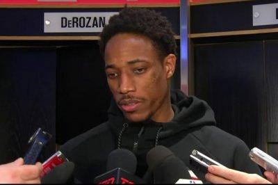 DeMar DeRozan leads as Toronto Raptors bury Brooklyn Nets