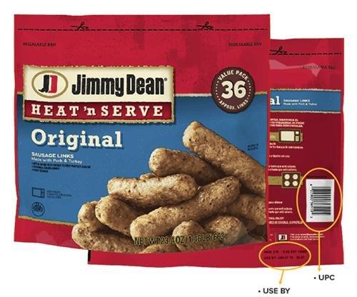 Jimmy Dean recalls 29,000 pounds of sausage over metal concerns