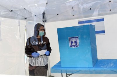 Israel sets up voting locations for people quarantined for COVID-19