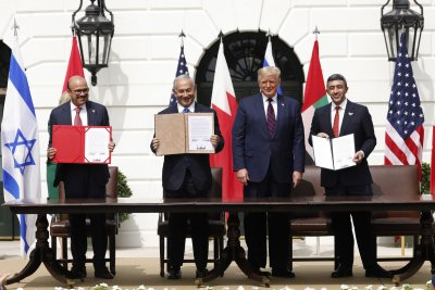 UAE, Bahrain, Israel normalize relations in White House ceremony