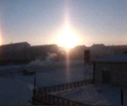 My three suns: Triple sun illusion recorded in Mongolia