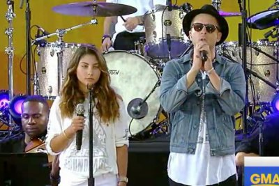Chris Cornell's daughter Toni sings 'Hallelujah' for father, Chester Bennington