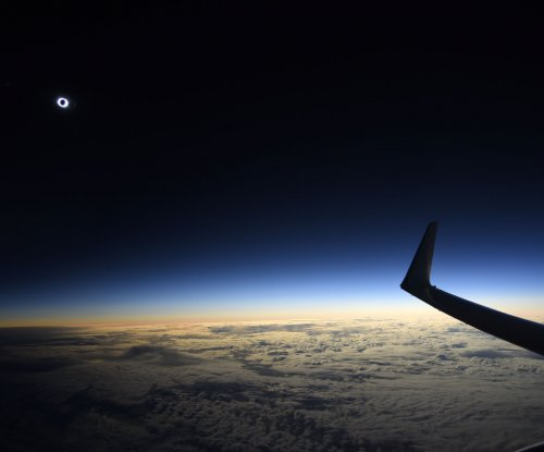 Eclipse chasers could form largest mass migration in history