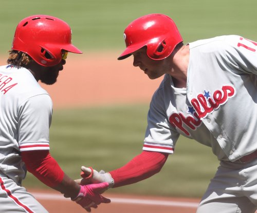 Phillies aim to avoid sweep by Yankees