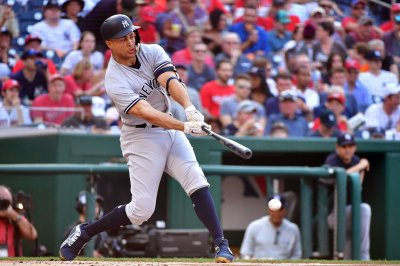 Yankees ride Stanton into finale vs. Rangers