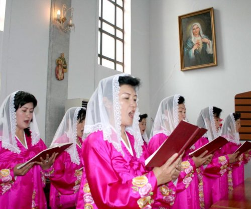 Christians in North Korea celebrated Easter, state media says