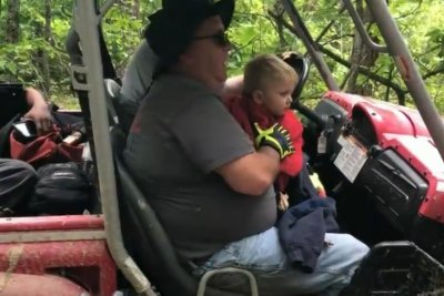 Rescuers find missing toddler in Kentucky woods after 3 days