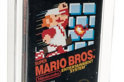 Sealed copy of 'Super Mario Bros.' auctioned for a record $114,000
