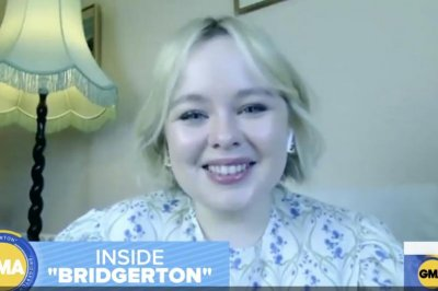 'Bridgerton' star Nicola Coughlan praises 'iconic' Julie Andrews