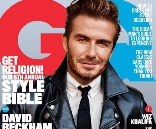 David Beckham: 'I'm secure as a person, a husband, a dad'