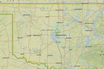 Several earthquakes strike shale-rich Oklahoma