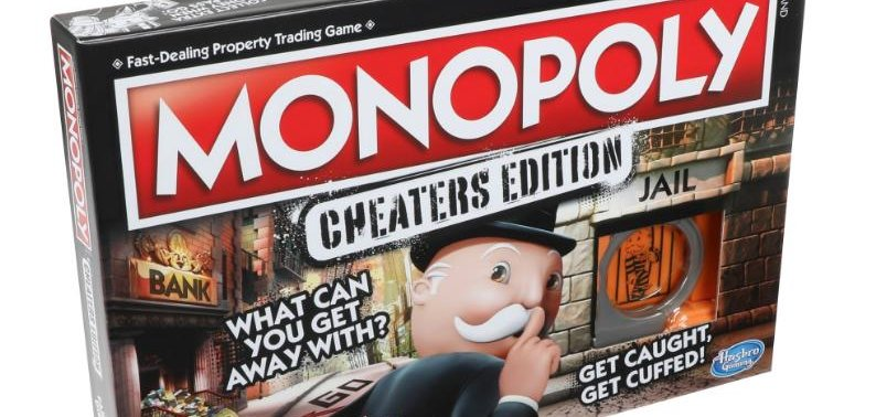 Hasbro introduces new version of Monopoly for cheaters - UPI com
