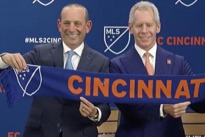 FC Cincinnati: MLS announces expansion team for 2019