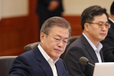 South Korean president calls for 'bold decision' by U.S., North Korea