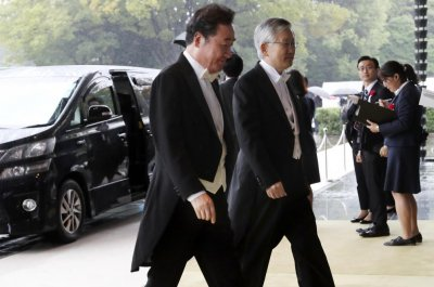 South Korean prime minister salutes 'love of humanity' on Japan visit