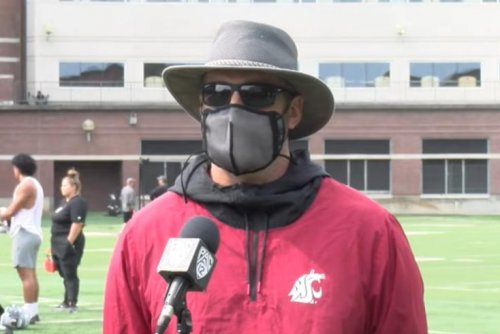 Washington State football coach Nick Rolovich fired for refusing COVID-19 vaccine