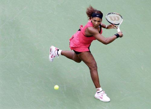 Serena wins but Venus loses in Rome