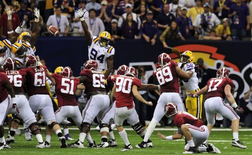 COL FB: Alabama 21, Louisiana State 0