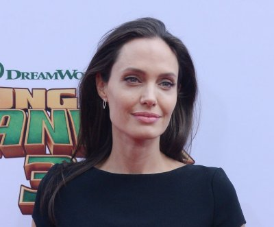 Angelina Jolie spotted with three new tattoos