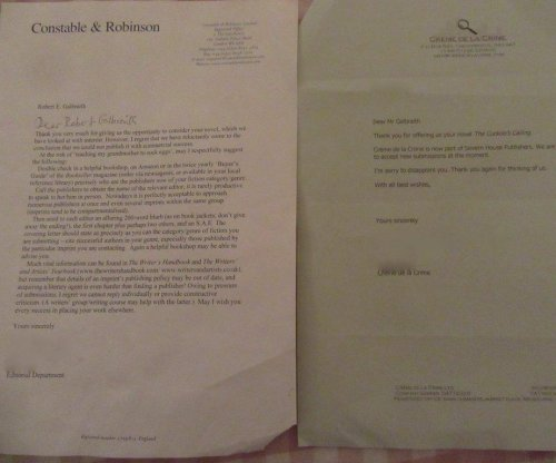J.K. Rowling shares rejection letters 'to inspire'