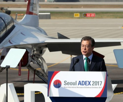 South Korea president calls for export of T-50 advanced trainers