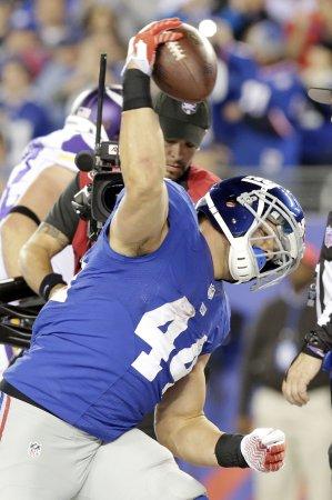 NFL: New York Giants 23, Minnesota 7