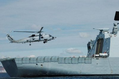 Denmark receives first MH-60R Seahawk helicopters
