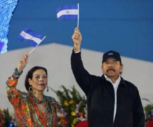 Nicaragua's president names wife as vice presidential running mate