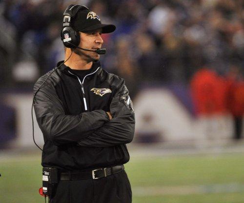 Baltimore Ravens' John Harbaugh focused on three-game season