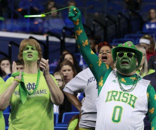 No. 15 Notre Dame routs Syracuse beind V.J. Beachem's 30