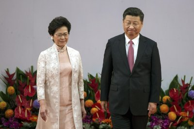 Xi Jinping talks tough on Hong Kong amid protests over Chinese rule