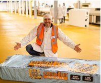 British company creates world's largest protein bar
