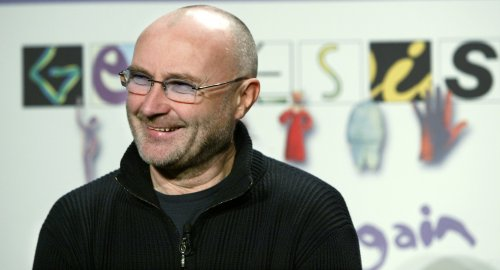 Phil Collins working with Adele