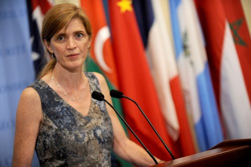 U.S. Ambassador Samantha Power visits Ebola-stricken countries
