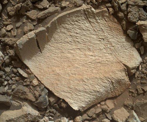 Curiosity rover investigates unusual Martian bedrock