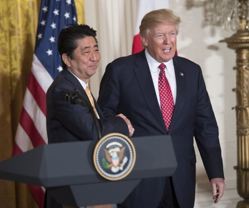 Trump, Abe say defense, trade vital in developing U.S.-Japan alliance