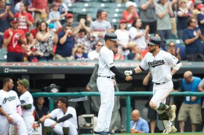 Jason Kipnis, Mike Tomlin lead Cleveland Indians in rout of Kansas City Royals