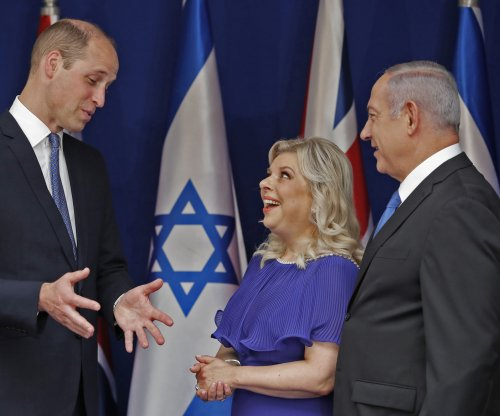 Prince William meets Netanyahus in Israel